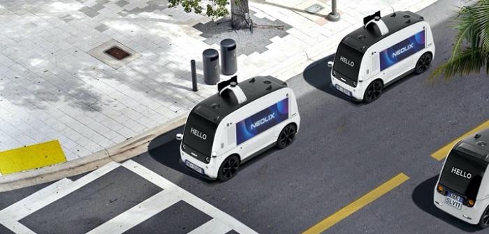 Neolix: Driverless Delivery als Zukunft in der Logistik ( Bildnachweis: NEOLIX)
